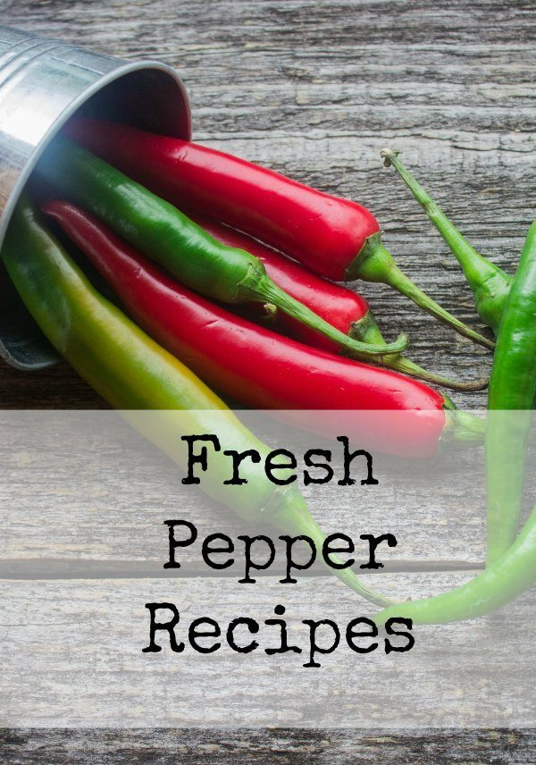 Fresh Pepper Recipes