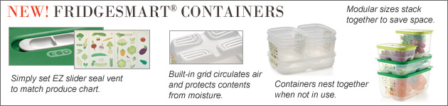 Fridge Smart Containers Tupperware