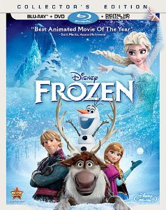 Frozen Blu Ray Combo Frozen (Two Disc Blu ray / DVD + Digital Copy) $13.00