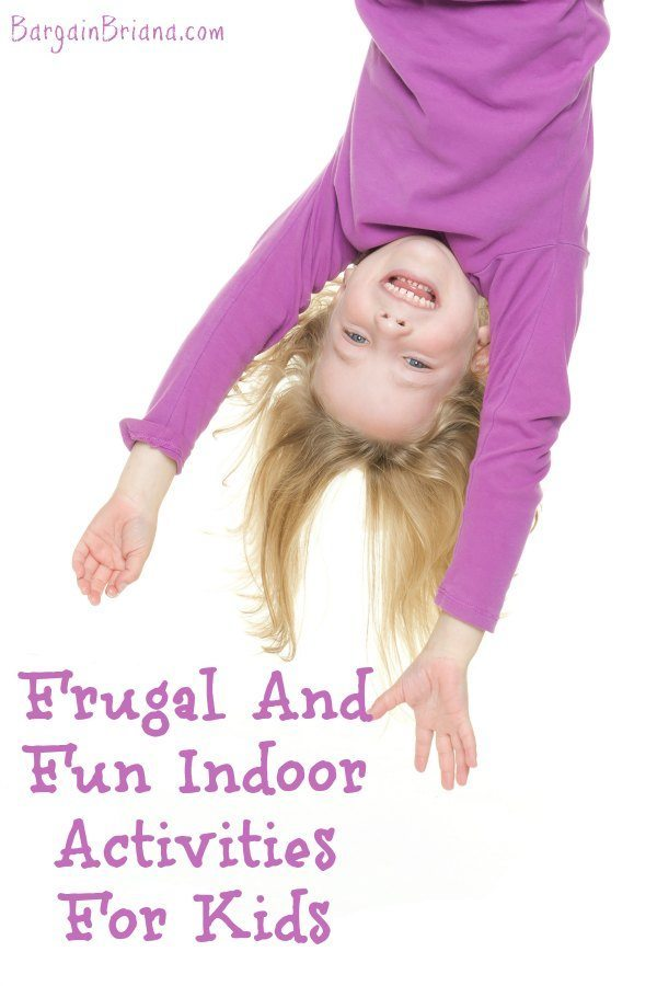 Frugal And Fun Indoor Activities For Kids