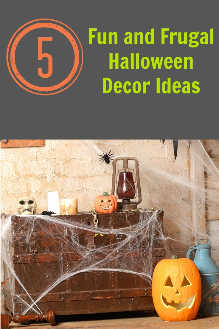 Frugal Halloween Decor Ideas