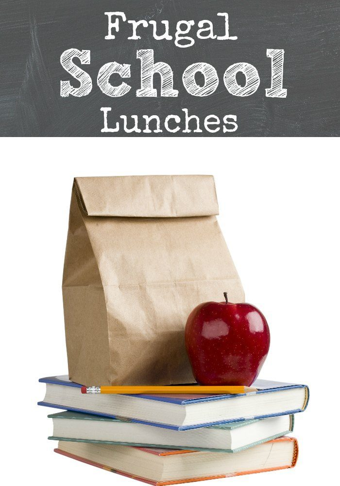 Frugal Lunches for Back to School