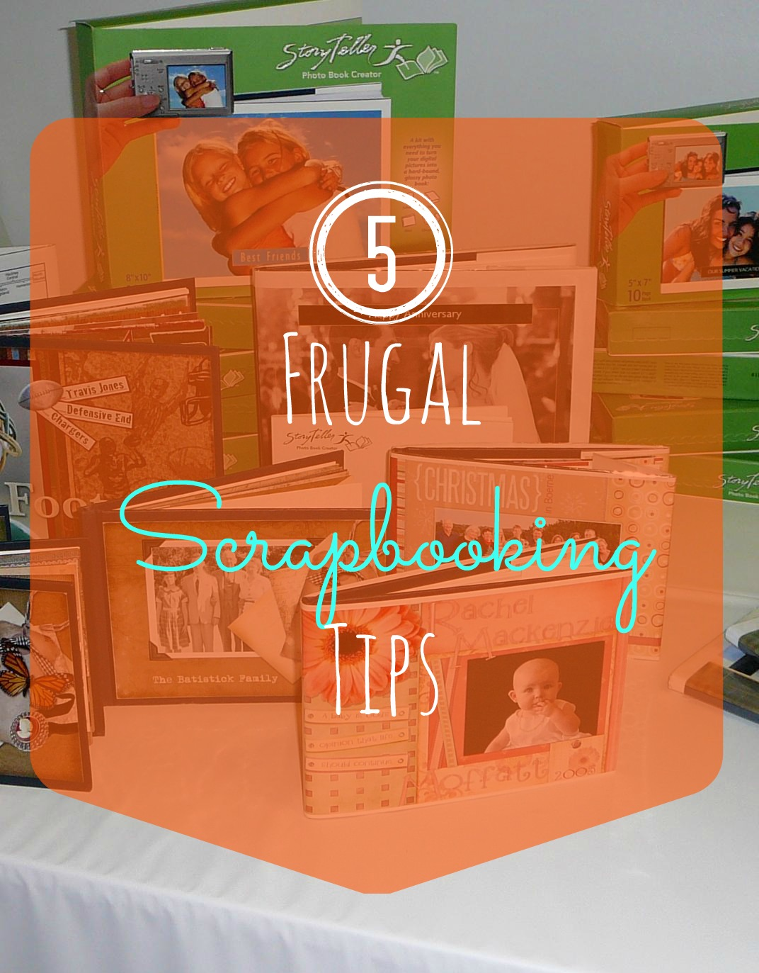 Frugal Scrapbooking Tips