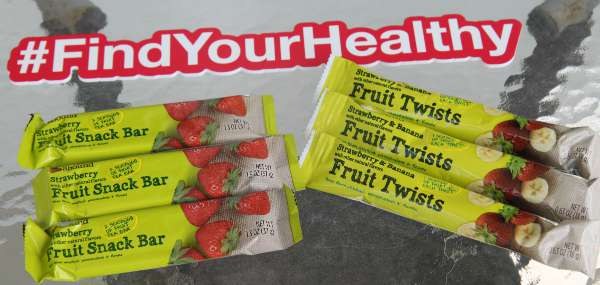 Fruit Snack Bars and Twists