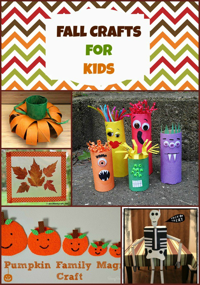 Fun Fall Crafts for Kids 15 Fall Crafts for Kids