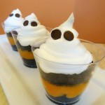 Ghost Pudding Cups Recipe for Fun Halloween Treat