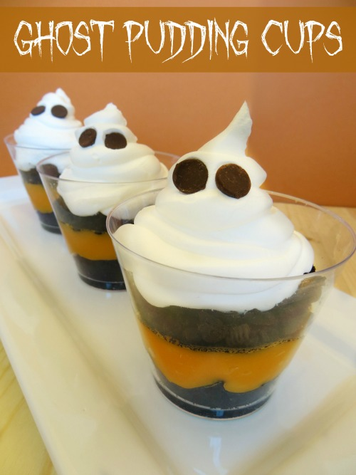 Ghost Pudding Cups Recipe