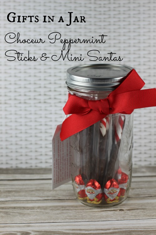 Gifts in a Jar Idea with Items from ALDI