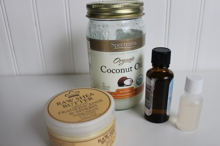 Gifts in a Jar Lavender Body Butter Ingredients