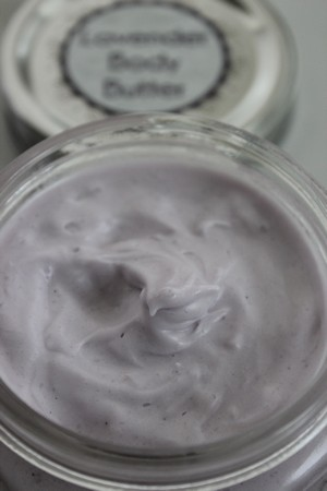 Gifts in a Jar Lavender Body Butter Recipe