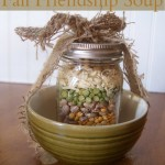 Gifts in a Jar Recipes Fall Friendship Soup