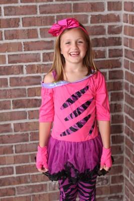 Girls Rocker Costume