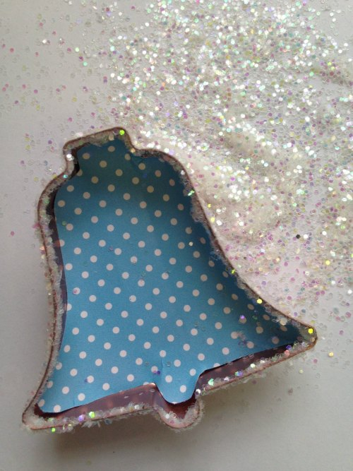 Glitter on Ornament