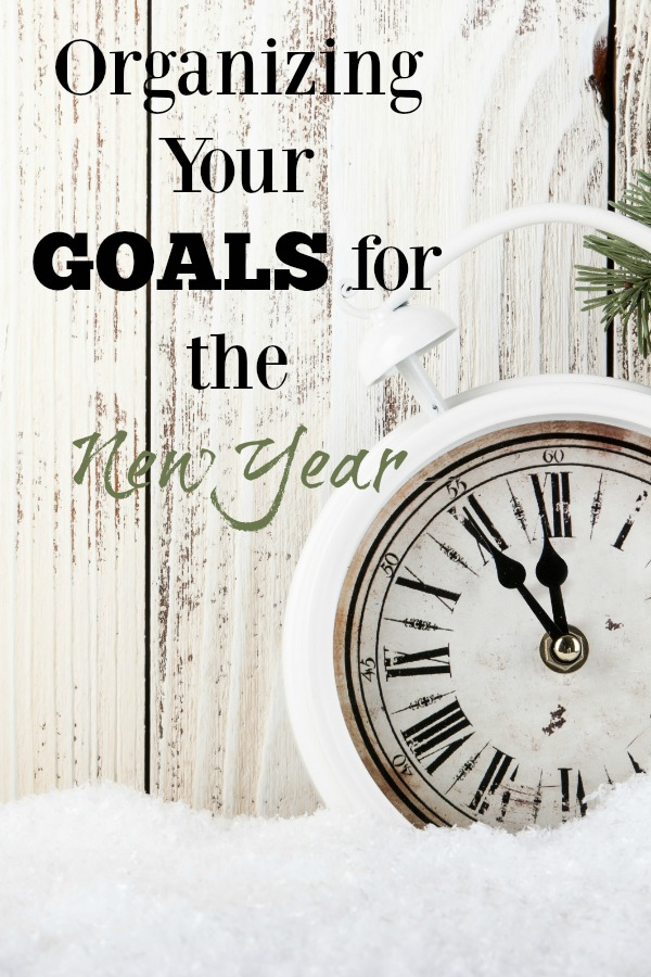 Goals for New Year Organization