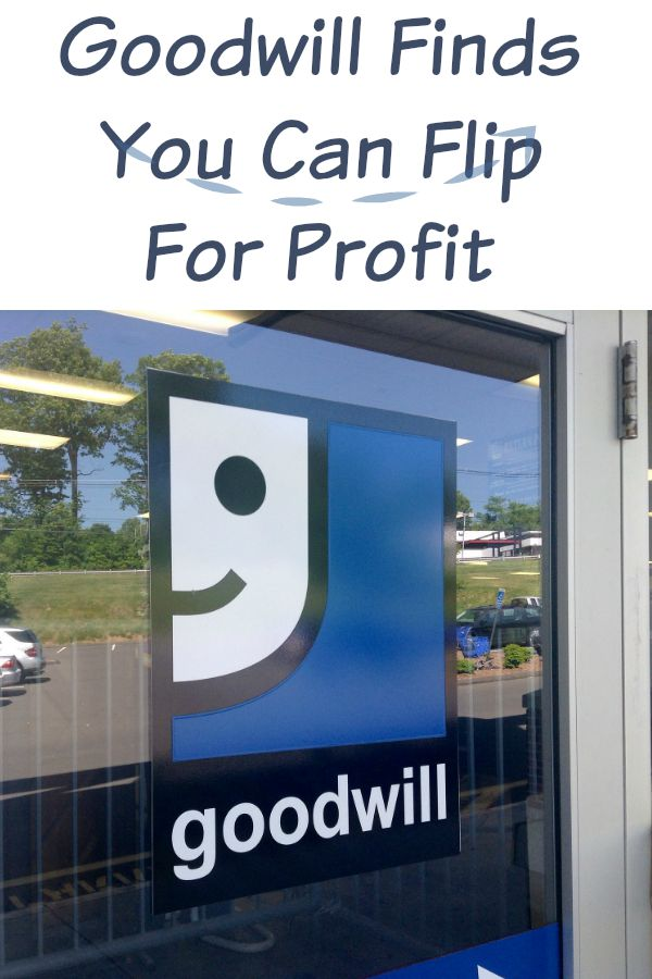 Goodwill Finds You can Flip for Profit