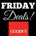 Goodys Black Friday Deals