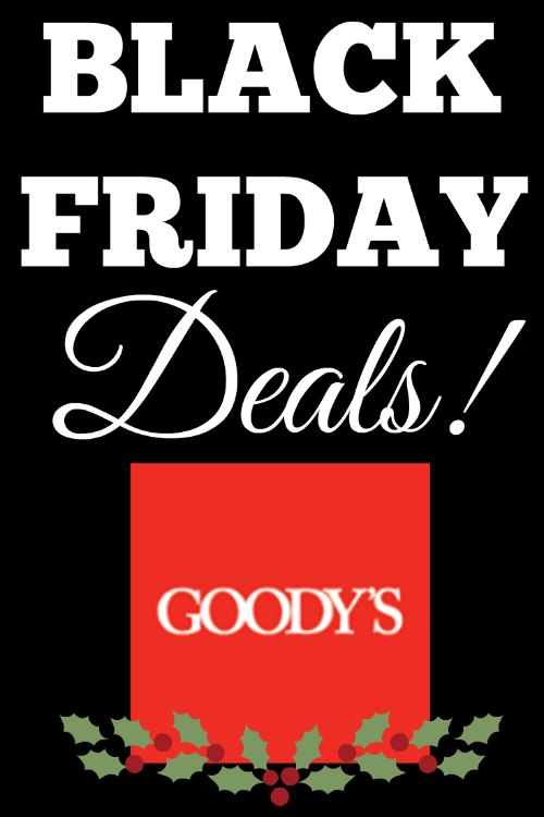 Goodys Black Friday Deals