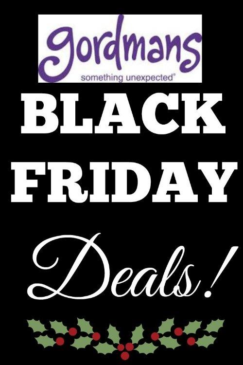 Gordmas Black Friday Deals
