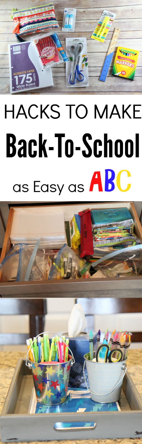 Hacks to Make Back-To-School as Easy as ABC