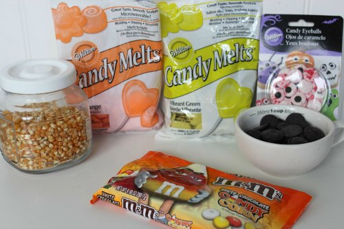 Halloween Popcorn Ingredients