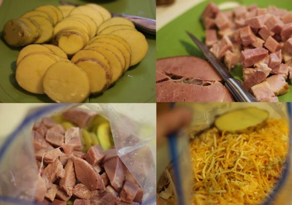 Ham  Scalloped Potatoes