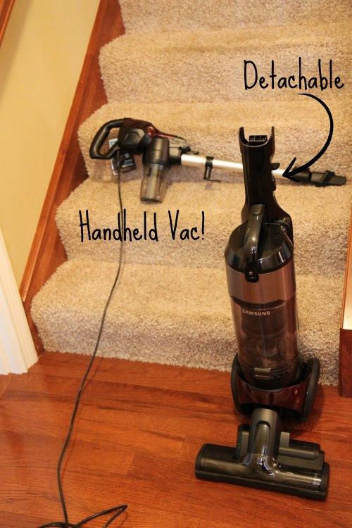 Samsung vacuum hard to push