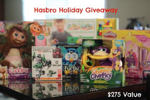 Hasbro Holiday Giveaway