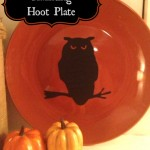 Haunting Hoot Plate