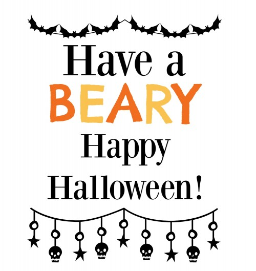 Have a Beary Happy Halloween