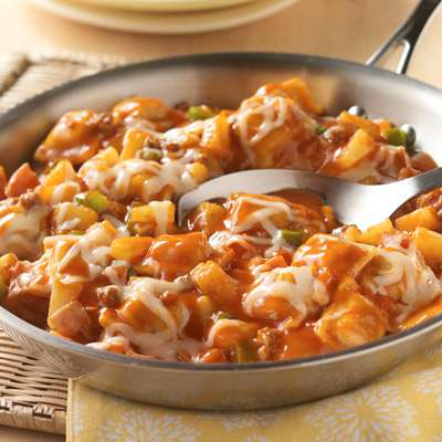 Hawaiian Ravioli Skillet Recipe