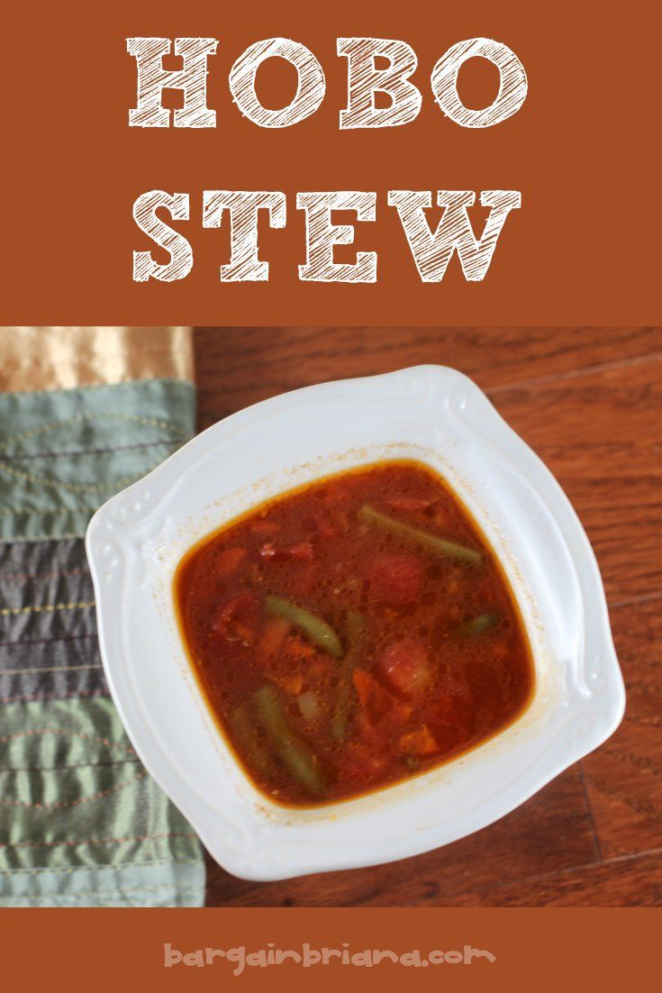 Hobo Stew Recipe