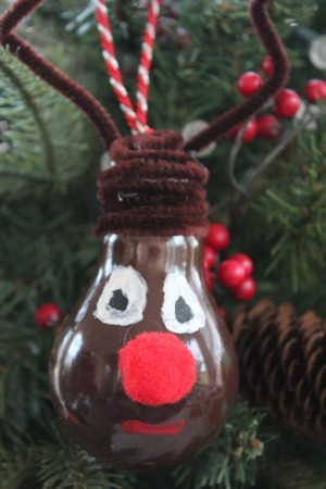Holiday Christmas Ornament Craft for Kids