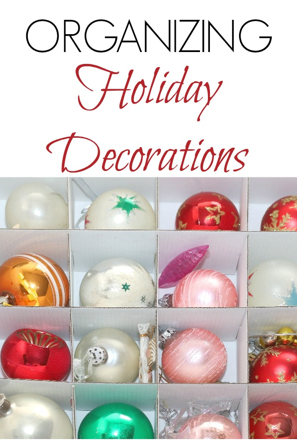 Holiday Decoration Organization