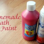 Homemade Bath Paint