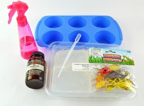Homemade Bug Soap Supplies