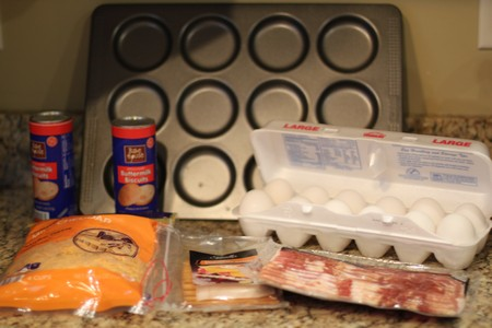Homemade Egg Sandwiches Ingredients