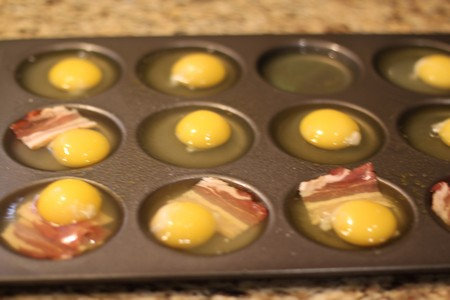 Homemade Egg Sandwiches in Whoopie Pie Pan