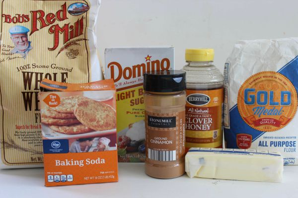 Homemade Graham Crackers Ingredients