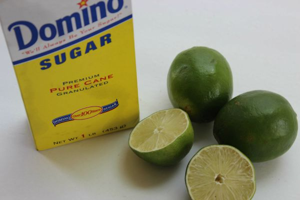 Homemade Limeade Ingredients