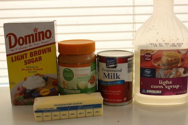 Homemade Peanut Butter Topping Ingredients