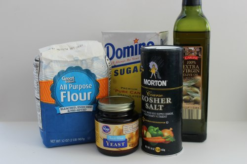 Homemade Pizza Dough Ingredients