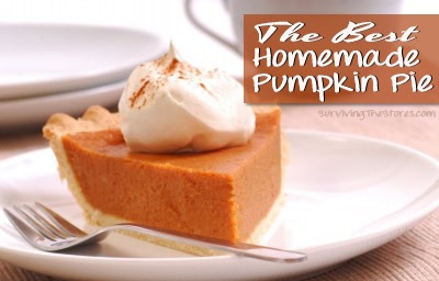 Homemade Pumpkin Pie Recipe 50 Pumpkin Recipes to Try