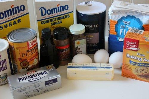 Homemade Pumpkin Roll Recipe Ingredients