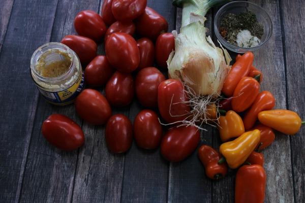 Homemade Spaghetti Sauce Ingredients