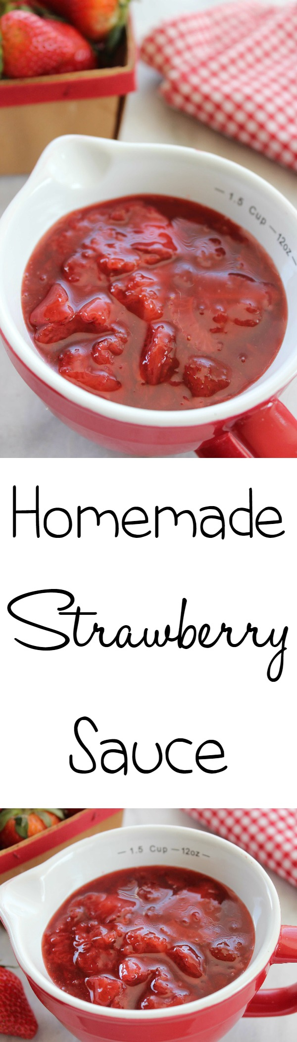 3 ingredient strawberry sauce bargainbriana