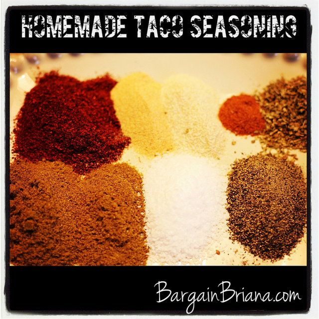 Homemade Taco Seasoning How to Make Your Own Taco Seasoning