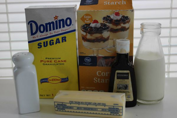 Homemade Vanilla Pudding Pops Recipe Ingredients