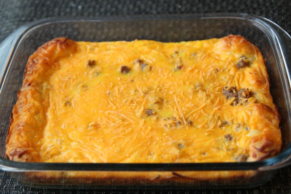 Honeysuckle Easy Turkey Sausage Breakfast Casserole