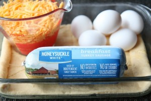 Easy Turkey Sausage Breakfast Casserole