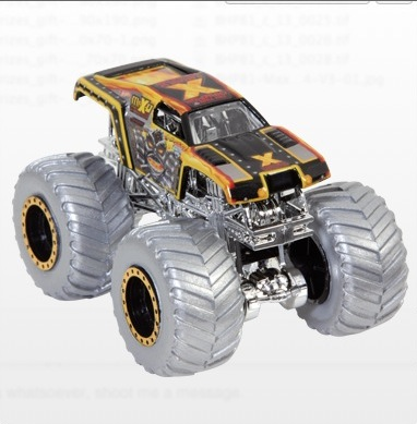 Hot Wheels Monster Truck Collector